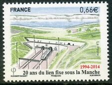 STAMP / TIMBRE FRANCE  N° 4861 ** TUNNEL SOUS LA MANCHE / TRAIN