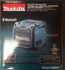 18V LXT Li-Ion Cordless Bluetooth Job Site Speaker (Tool Only) Makita XRM07 New