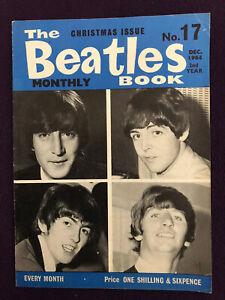 Original THE BEATLES BOOK MONTHLY magazine no.17 Dec 1964 GEORGE HARRISON