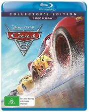 Cars 3 (Blu-ray, 2017, 2-Disc Set)