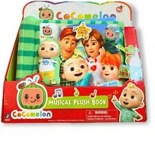 Cocomelon Musical Plush Book 5 Nursery Rhymes Singing Time ⭐⭐⭐⭐⭐