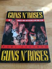 Guns N' Roses The World's Most Outrageous Hard Rock Band  Japan Book F/S