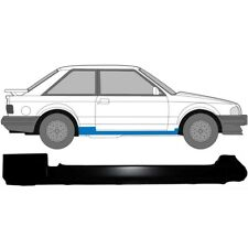 Ford Escort MK4 XR3i RS Turbo izquierda /& secciones de reparación de chasis trasera derecha