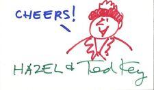 Cartoonist TED KEY Signed Original Sketch - HAZEL