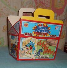 vintage BURGER KING SUPER POWERS MEAL PACK box