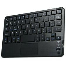 Teclado touchpad bluetooth inalámbrico con letra Ñ para PC-portátil-móvil-tablet