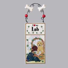 I Love My Labrador Retriever Ornament