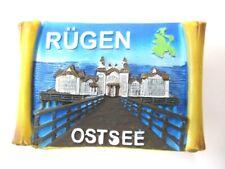 Rügen Island Baltic Sea Magnet Poly Roll 7 cm, Souvenir Germany, Germany, New