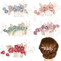 Nuovo fiore capelli pettini copricapo da sposa accessori per capelli da sposa