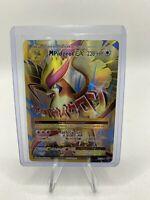 M Pidgeot EX Full Art NM Evolutions 105/108 HOLO RARE Pokemon card NEVER PLAYED