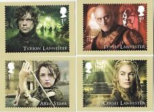 GB 2018 PHQ Cards Mint Set~Game of Thrones~(16)~PHQ-438~UK Seller