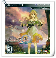 PS3 Atelier Ayesha: The Alchemist of Dusk SONY Playstation Games RPG Koei