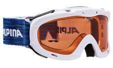 Alpina Children Ski Goggles Ruby S Singleflex White