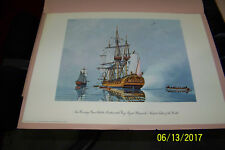 Special Edition Print for the US Revolution bicenntinel of the frigate Hancock