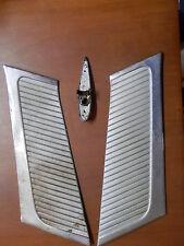 Coppia acciaio inox per modanatura auto FIAT 1100 Special indicatore direzione