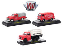 M2 MACHINES COKE SET 3 CAR SET HOBBY ONLY