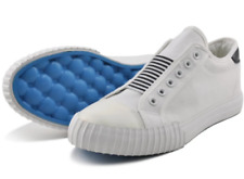 Tanggo Clint Fashion Sneakers Men's Flat Shoes/Slip-On (white)