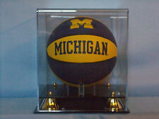 Final four mini basketball acrylic display case 85% UV filtering NBA NCAA