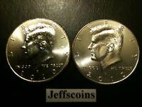 2010 P&D Kennedy Half Dollar Set GEM BU From MINT ROLL Clad No Silver 50 Cent