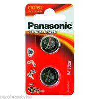 PANASONIC Pile bouton CR2032 Lithium 3V  Blister de 2  Knopfzelle CR 2032
