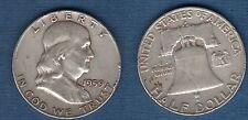 Etats Unis USA United States - Franklin Half Dollar 1959 D Denver Silver Argent