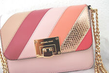 MICHAEL KORS NEU Handtasche Tina Select blossom rose Crossbody Tasche Leder