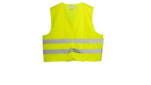 HI VIZ VEST 1 or 3 pack sizes: L XL XXL 3XL YELLOW HIGH Visibility Safety Jacket