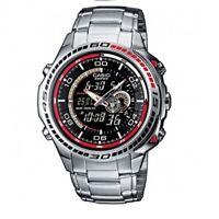 Brand New Casio Edifice EFA-121D-1AVEF Stainless Steel Men's Watch