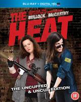 The Heat Blu-Ray (2013) Sandra Bullock, Feig (DIR) cert 18 ***NEW*** Great Value