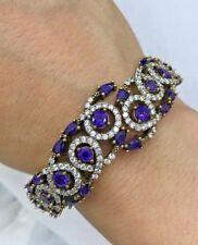 Turkish Handmade Jewelry Sterling Silver 925 Bracelet Bangle Cuff