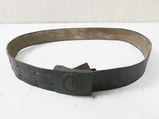 #B/ Einzelstück 103cm Lederkoppel Koppelriemen + Koppelschloss Wehrmacht Koppel