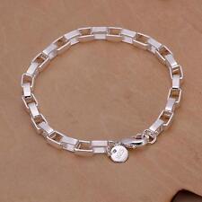 beautiful Fashion silver Plated Cute chain pretty lady bracelet wedding girl