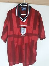 England National Team Away  FOOTBALL Shirt 1997/1999 Umbro