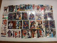 Lot Of 50 Brett Hull Hockey Cards w/Inserts Blues Red WIngs jhock