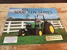 1998 JOHN DEERE 5000 Ten Series TRACTORS Original Sales  Brochure