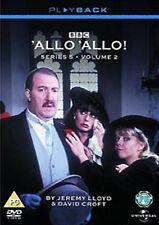 ALLO 'ALLO COMPLETE SERIES 5 VOL 2 DVD SEASON Gorden Kaye Carmen Silvera UK New