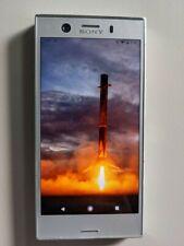 Sony Xperia XZ1 compact - 32GB - Snow Silver - Unlocked single Sim with case.