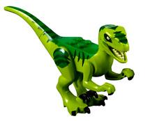 LEGO GREEN VELOCIRAPTOR DINOSAUR  ~ Authentic Jurassic World Animal 10757