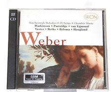 CARL MARIA VON WEBER - 2CD - Ten Melodies Of Scotland - Watkinson - Partridge