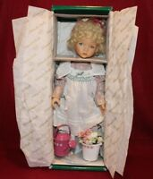 """Dianna Effner's Mother Goose 14"""" Doll MARY MARY Quite Contrary By Knowles."""