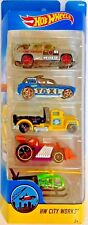 Hot Wheels HW City Works 5 Car Gift Pack #DVF98 1:64 Scale Diecast