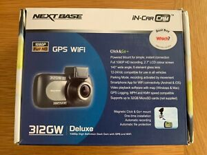 Nextbase 312GW Deluxe 1080p High Definition Dash Cam with GPS and Wifi