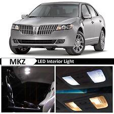15x White Interior LED Light Package Kit for 2007-2012 Lincoln MKZ