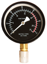 20 Ton Pressure Gauge For Hydraulic Shop Press Workshop Manometer Spare Part 20T