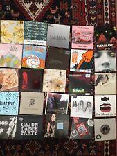 "Job Lot x 25 Indie Bands/Labels  7"" Singles ALL MINT!"