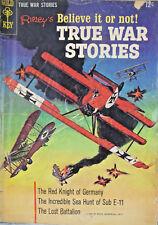 Ripleys Believe It or Not True War Stories 1965 Gold Key Silver Age Comic VG-