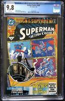 Action Comics # 689 CGC 9.8 1st Appearance Of Black Suit Superman DC 1993