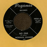 GARAGE ROCKABILLY 45 Norman Juliano THE REALISTICS Rosa Lee EX