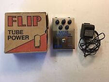 Guyatone MM-X Flip Tube Power Metal Monster Distortion Rare Guitar Effect Pedal