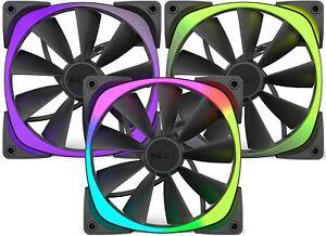 NZXT RF-AR140-T1 Aer RGB140 Triple Pack 140MM RGB Case Fan